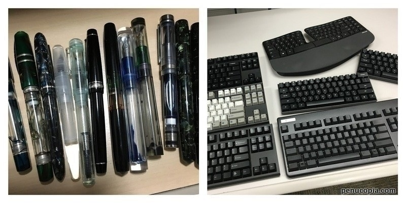 Pens vs. Keyboards